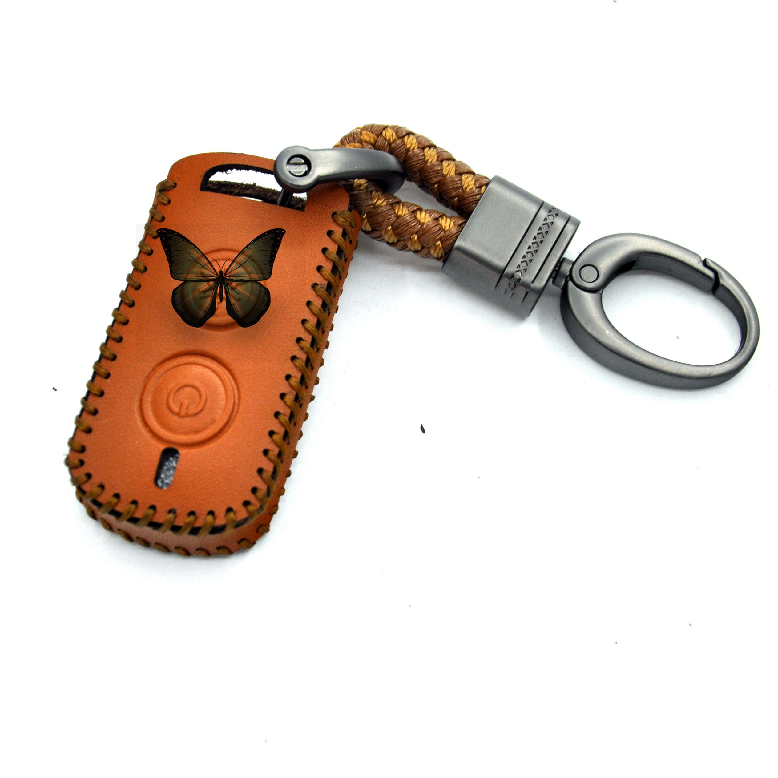 2019 hot sale wholesale car key fob for Yamaha NVX155 QBIX JAUNS XMAX300 Motorcycle Protector Keychain Cover Wholesale(MH102