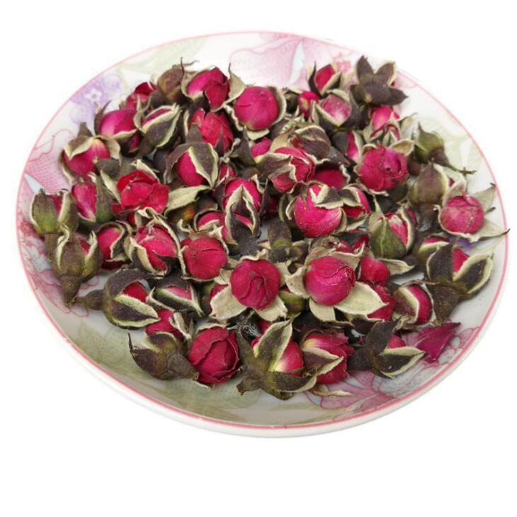 Complete shape sweet smell natural gold rose buds flower for blooming tea - 4uTea | 4uTea.com