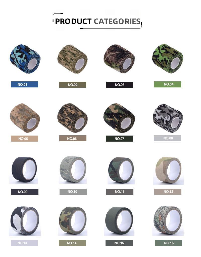 Beste Digitale Camo Athletic Tape Van Kunshan Fabriek