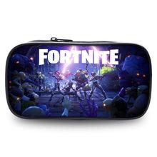 Стреляющая игра Fortnite игрушечный Карандаш Чехол с принтом персонажа, сумка для хранения, сумка для мальчиков и девочек, модная канцелярская ...(Китай)