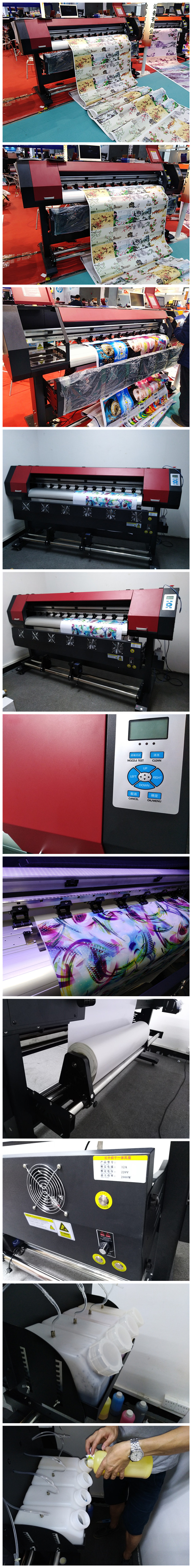 1.6m 1.8m 2.2m low cost large format eco solvent printer for flex banner printing