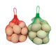 Colorful vegetable small size packing 2kg onion mesh bag with button