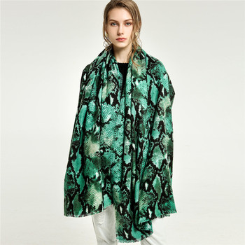 New Design Women Customized Shawl Green Wool Scarf For Man