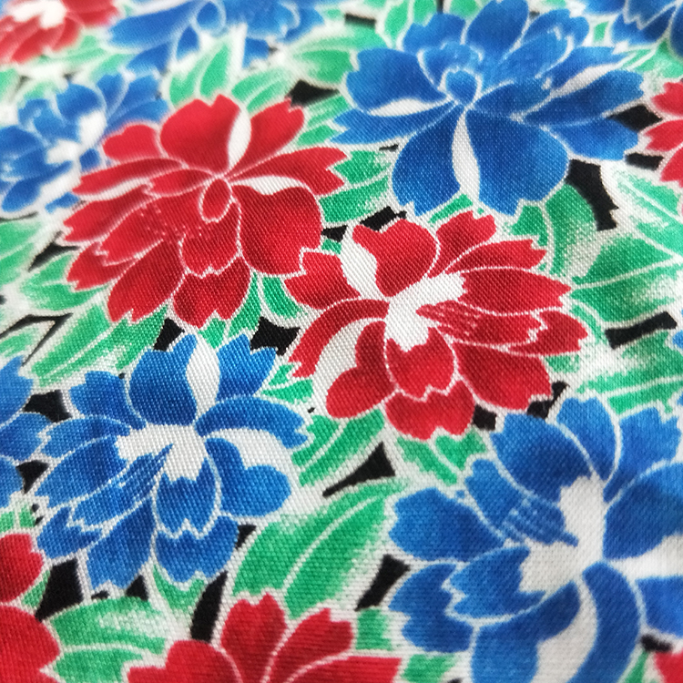 viscose material rayon fabric rayon printed fabric stock fabric in shaoxing