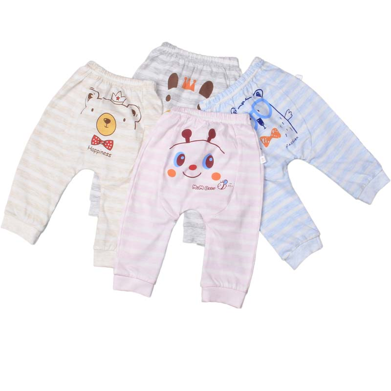 Boys and girls selling baby PP pants in spring, autumn 100 cotton 0 to 3 years old Boy Girl Baby Harem Pants