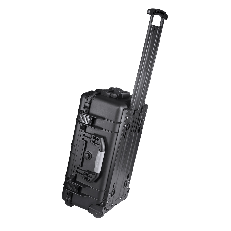 Waterproof protective hard plastic storage tool case custom plastic equipment case flight case with handle
