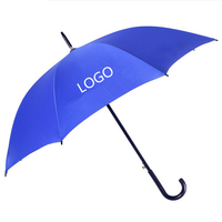 High quality Custom Cheap advertising promotional rain straight umbrella with logo printing