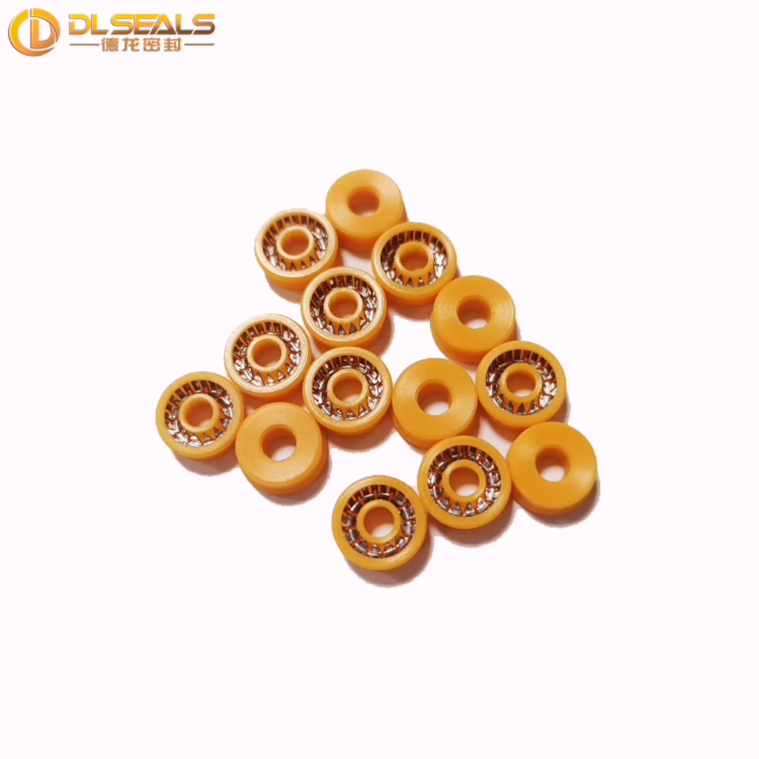DLseals PTFE Rotating 3.8*8*3 spring energized seals