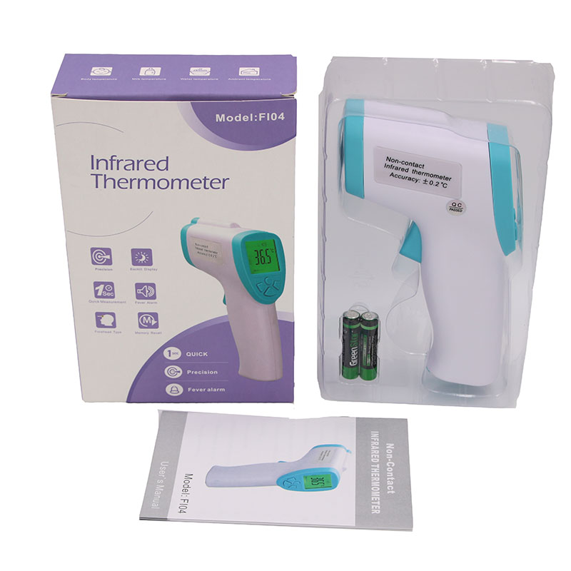 Portable Baby Adult Body Forehead Non Contact Digital Infrared Thermometer - KingCare | KingCare.net