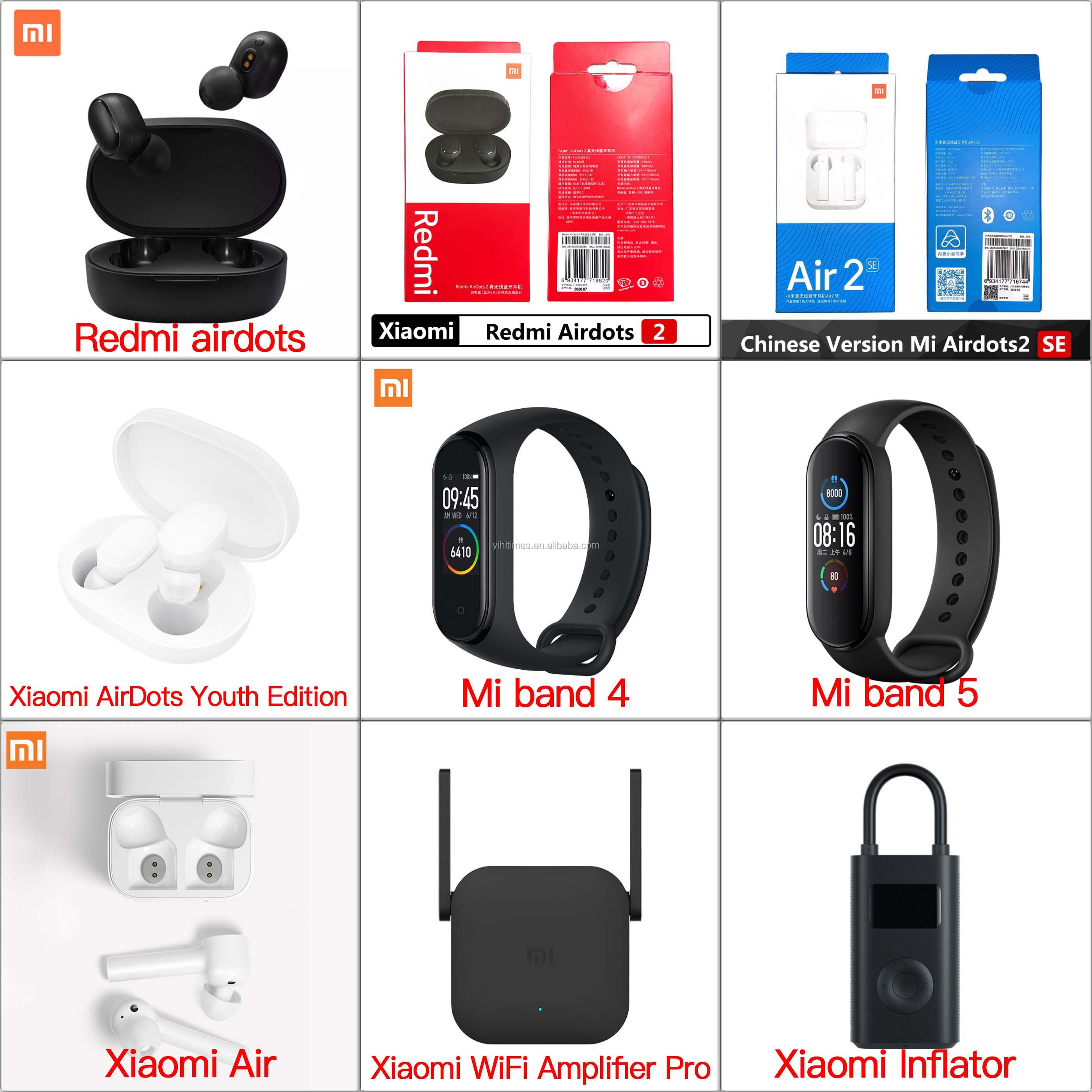 wholesale Xiaomi Mi Band 4 Smart Miband 4 Bracelet Heart Rate Fitness Waterproof Level 5ATM Sramt Watch