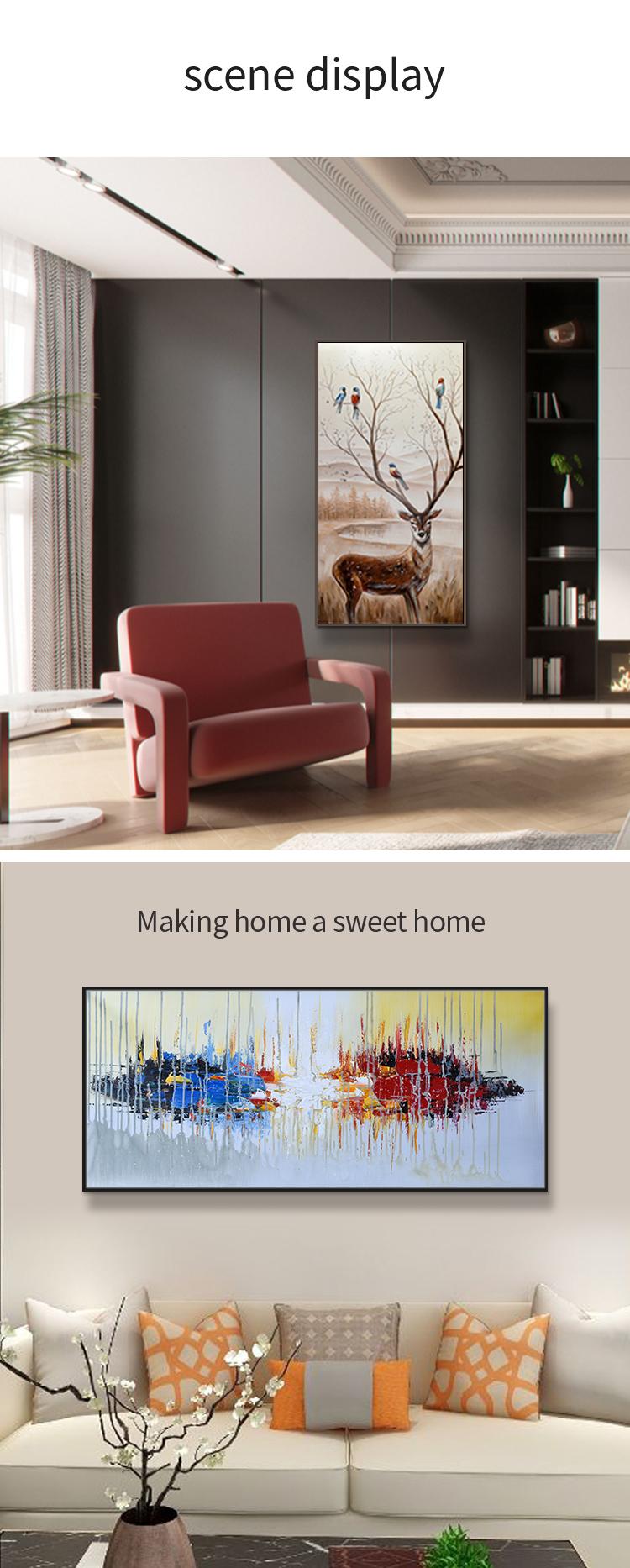 Modern Home Decor Oro Dei Capelli Delle Donne Del Cotone di Tela Pittura Ad Olio Pop Art Pittura