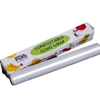 Eco Friendly Degradable And Compostable Pla Plastic Cling Wrap Supplier From China