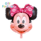 New products aluminum balloon square Mickey Minnie children's toys birthday party Baby shower foil balloon from chinese supplier