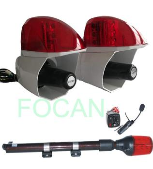 Police alarm speaker & LED strobe light for motorcycle 40W ,12V