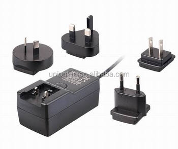 20W Wall Plug in 3v 4.5v 5v 6v 7.5v 9v 12v 2.5A AC DC adapter for Led Lights/ desktop /wall mounted Switching power supply