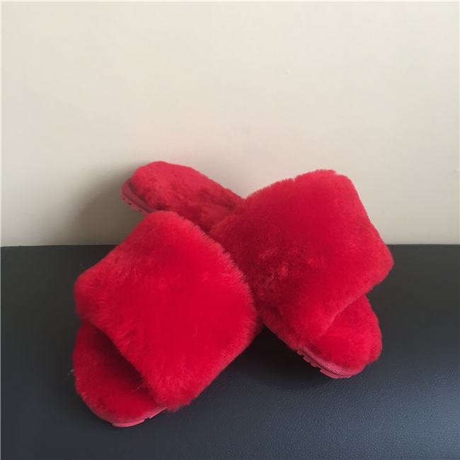 Shearling Lining Slippers Wholesale