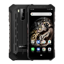 Ulefone IP68 IP69K Armor X5 <span class=keywords><strong>Robuuste</strong></span> Telefoon 3 Gb + 32 Gb Drop Verzending Dual Back Camera 5000 Mah Batterij android 9.0 4G Mobiele <span class=keywords><strong>Goedkope</strong></span>