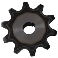 China dealers hot sale 16b industrial chain drive wheels sprockets 10t