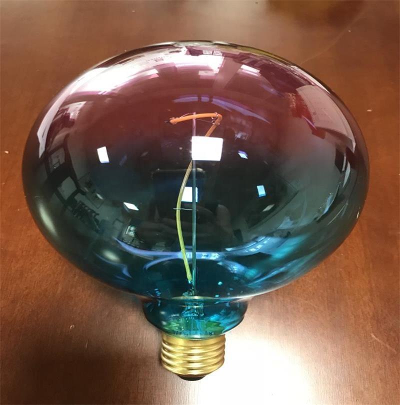G125 나선형 블루 + 핑크 4W 220-240 V/50Hz 2200K 큰 led 필라멘트 전구