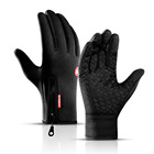 Hot style winter outdoor sports cycling touch screen saver warm men's gloves mountaineering windproof skiing gloves