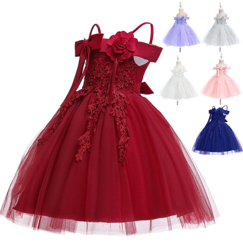 2020 Child Girls' Dress Girl Pageant Ball Princess Dress For Christmas