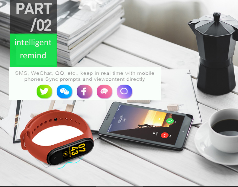 Newest Relojes Inteligentes Bluetooth Waterproof Smart Wristband Watch Fitness Tracker Smart Bracelet Band