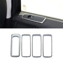 Переключатель окна двери автомобиля кнопка подъема крышка отделка рамка для Land Rover Discovery 4 2009-2016 для RR Sport 2009-2013 Аксессуары(China)