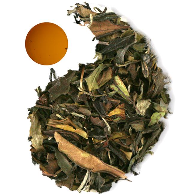 Chinese Organic loose leaf white peony Bai Mu Dan tea EU standard with fair trade - 4uTea   4uTea.com