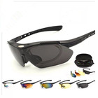 Wholesale ROCKBROS Colorful Cycling Glasses Specialized Outdoor Sports Bike Bicycle Windproof Sunglasses 5 lens