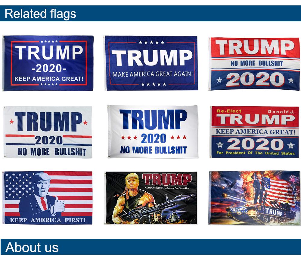 حار بالجملة الولايات المتحدة أعلام دونالد ترامب 2020 إبقاء أمريكا العلم العظيم 3 * 5ft 150*90 سنتيمتر البوليستر راية للرئيس
