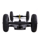 Newest Hawk Plus electric skateboard with wide carbon deck,torque electric longboard AT wheels skateboard