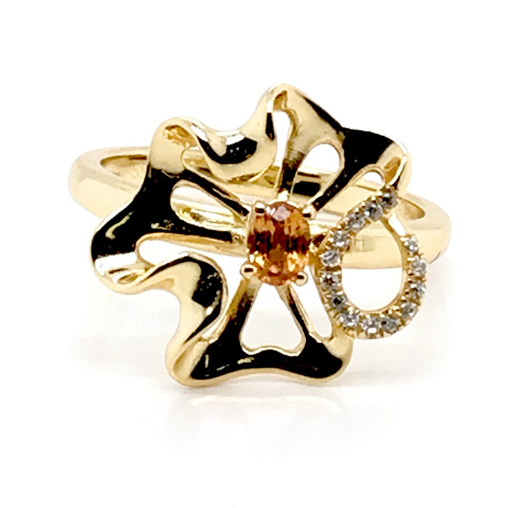 product-BEYALY-Hip Hop Zircon With Swivel Cuban Ring, New Cuban Rotatable Ring-img-2