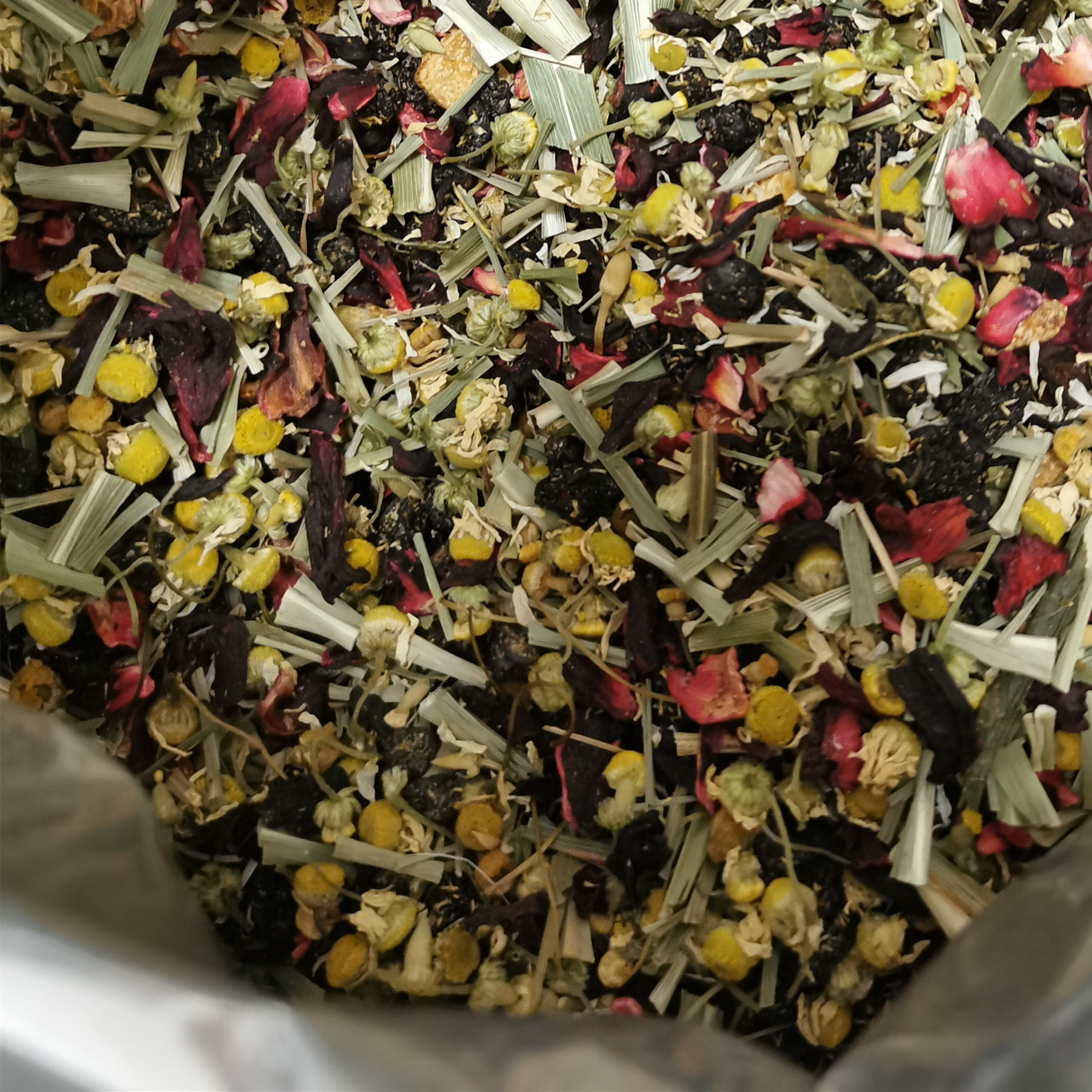 Loose Flavoured Tea Blending Tea with Herbal Blends and Fruit Tea Blend - 4uTea | 4uTea.com
