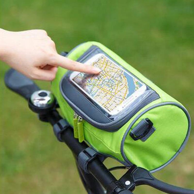 2020 yeni tasarım dağ bisikleti görsel dokunmatik ekran elektrikli bisiklet çantası