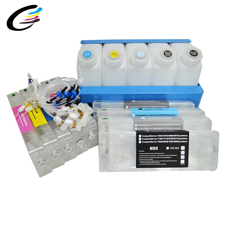Groothandel Out Tank Ink Supply System CISS Cartridge voor Epson Stylus PRO7900 9900