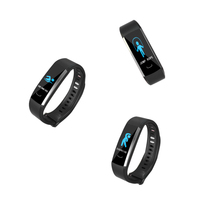 Heart Rate Monitor Blood Pressure Fitness Tracker Smart Bracelet smart watch