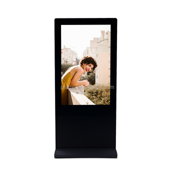new model digital advertising display 10 inch vertical with motion sensor bluetooth