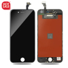 OEM free shipping Black Full Front LCD Touch Screen+ Digitizer Assembly + Frame for iphone 6 4.7""
