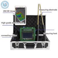 Touch screen 3d metal detector for Underground treasure