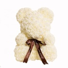 China Wholesale Factory Supply Teddy Bear Flower Valentine Rose Bear For Friend, Girlfriend, Wife For Gifts & Decoration