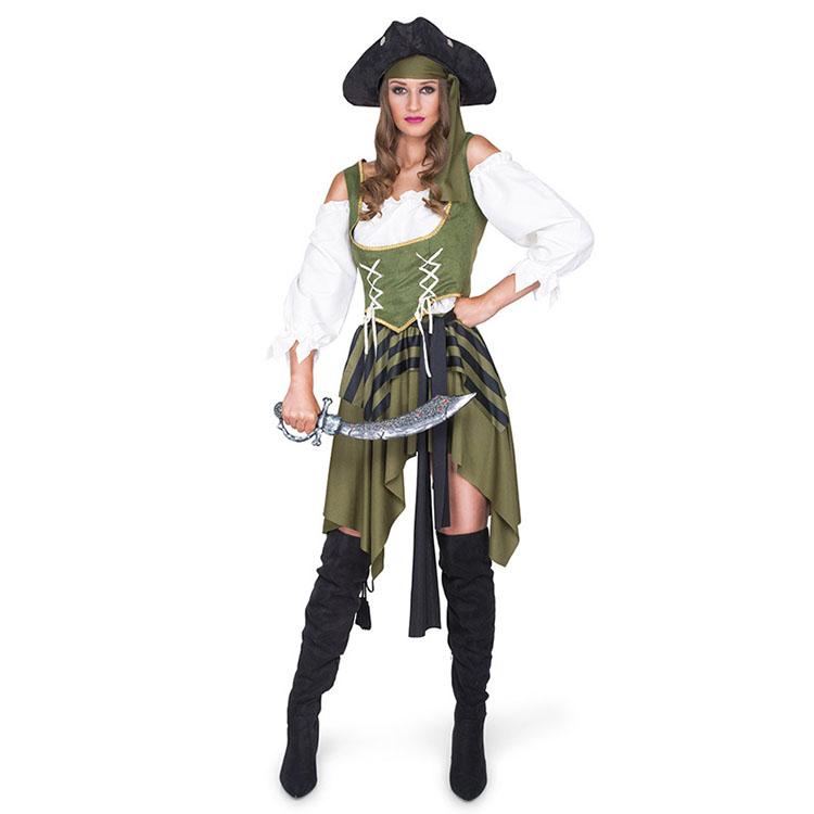 Korsan tarzı seksi kadın yetişkin parti kostüm cadılar bayramı kostümleri tedarikçiler toptan