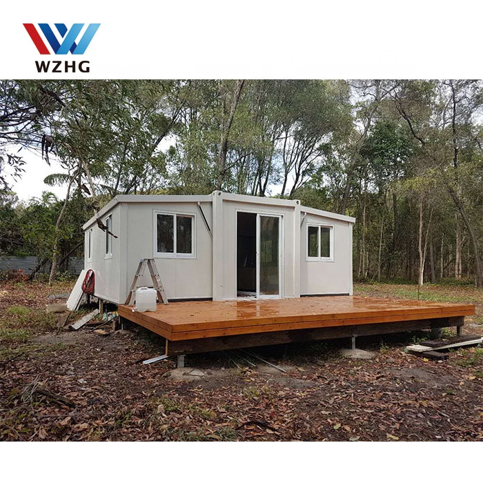four bedrooms one bathroom luxury 40ft prefab folding container homes for sale Prefab Houses
