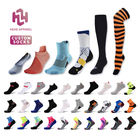 Football Soccer Socks Soccer Socks Men Custom Logo Men Women Sport Athletic Compress Ankle Crew Knee High Anti Slip Basketball Football Soccer Running Cycling Socks