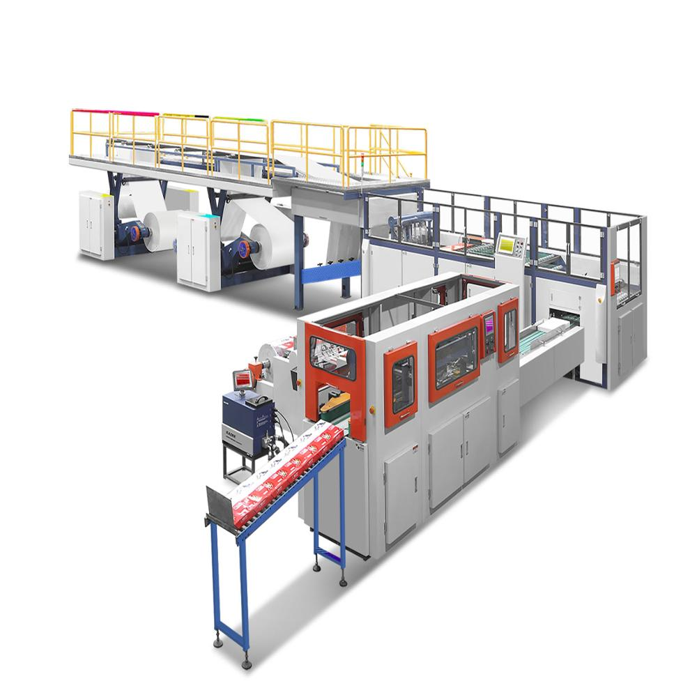 Fully Automatic A4 Size Cutting A4 Paper Making Machine