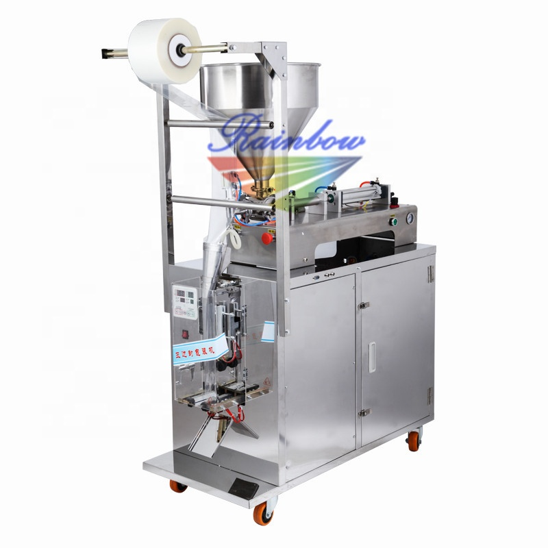 Small manufacturing automatic jam sachet packing machine