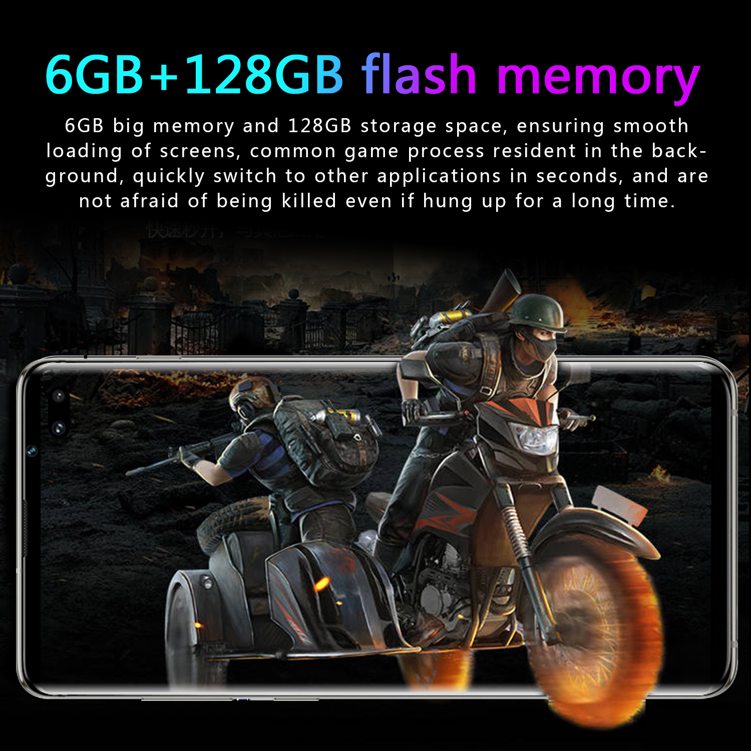 S10 Lowest Price China Android Phone 4G Lite smart mobile 6.5 inch Quad core  Global Version  Lite 6GB 128GB Mobile Phone