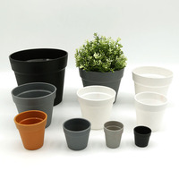 Frosted International Balcony Garden Decoration Plastic Plant Pot
