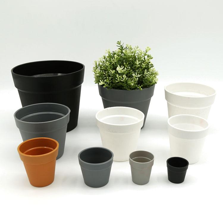 Frosted International Balcony Garden Decoration Plastic Plant Pot