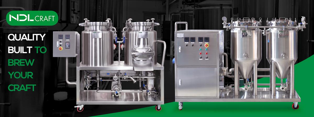 60l छोटे से घर बीयर बनाने की मशीन शंक्वाकार किण्वक