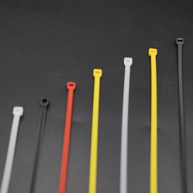 Нейлоновые цветные кабельные стяжки на молнии, пластиковые провода, бесплатные образцы